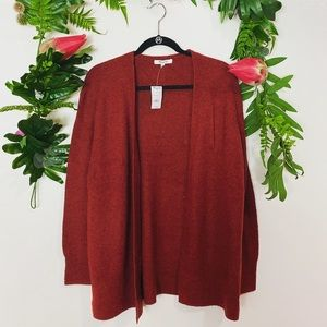 NEW Madewell red cardigan ✨size small
